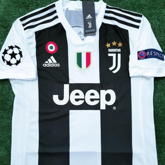 bd2e611f33d 2018 19 Juventus soccer jersey Ronaldo player vers